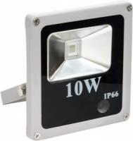 Прожектор светод 10Вт 4000К IP65 белый/серый Feron